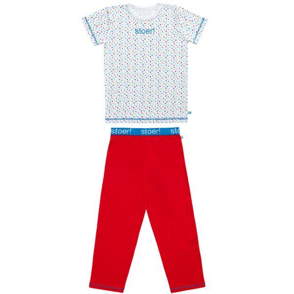 Stoer! Pyjama Rood