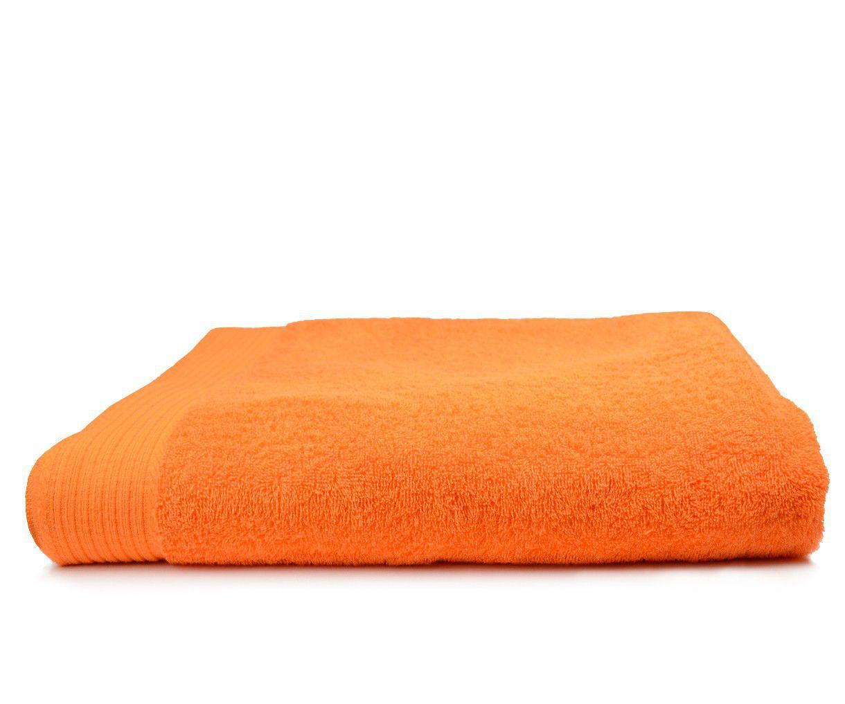 The One Badlaken 450 gram 100x180 cm Oranje