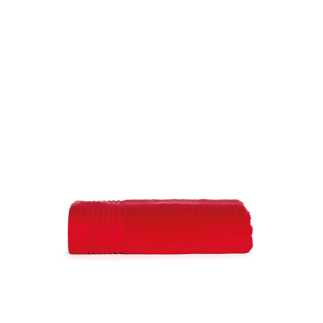 The One Handdoek 450 gram 50x100 cm Rood