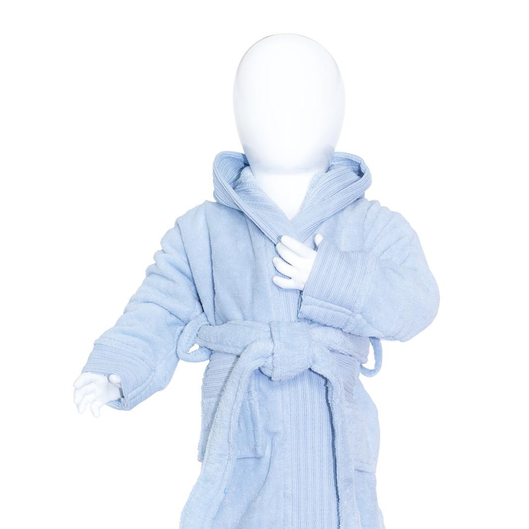 The One Baby Badjas 450gram Licht Blauw