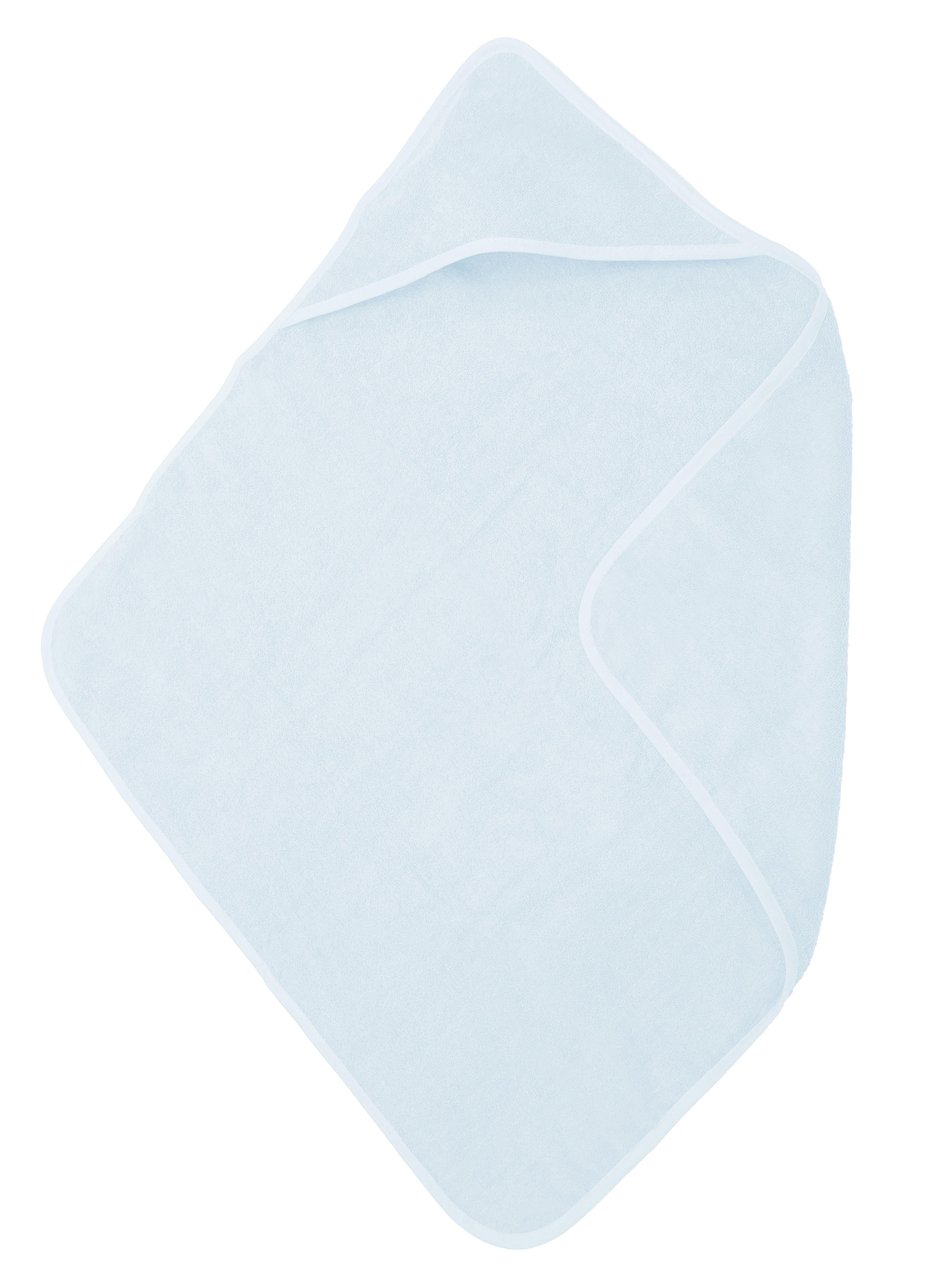 The One Baby Handdoek 75x75 Light Blue