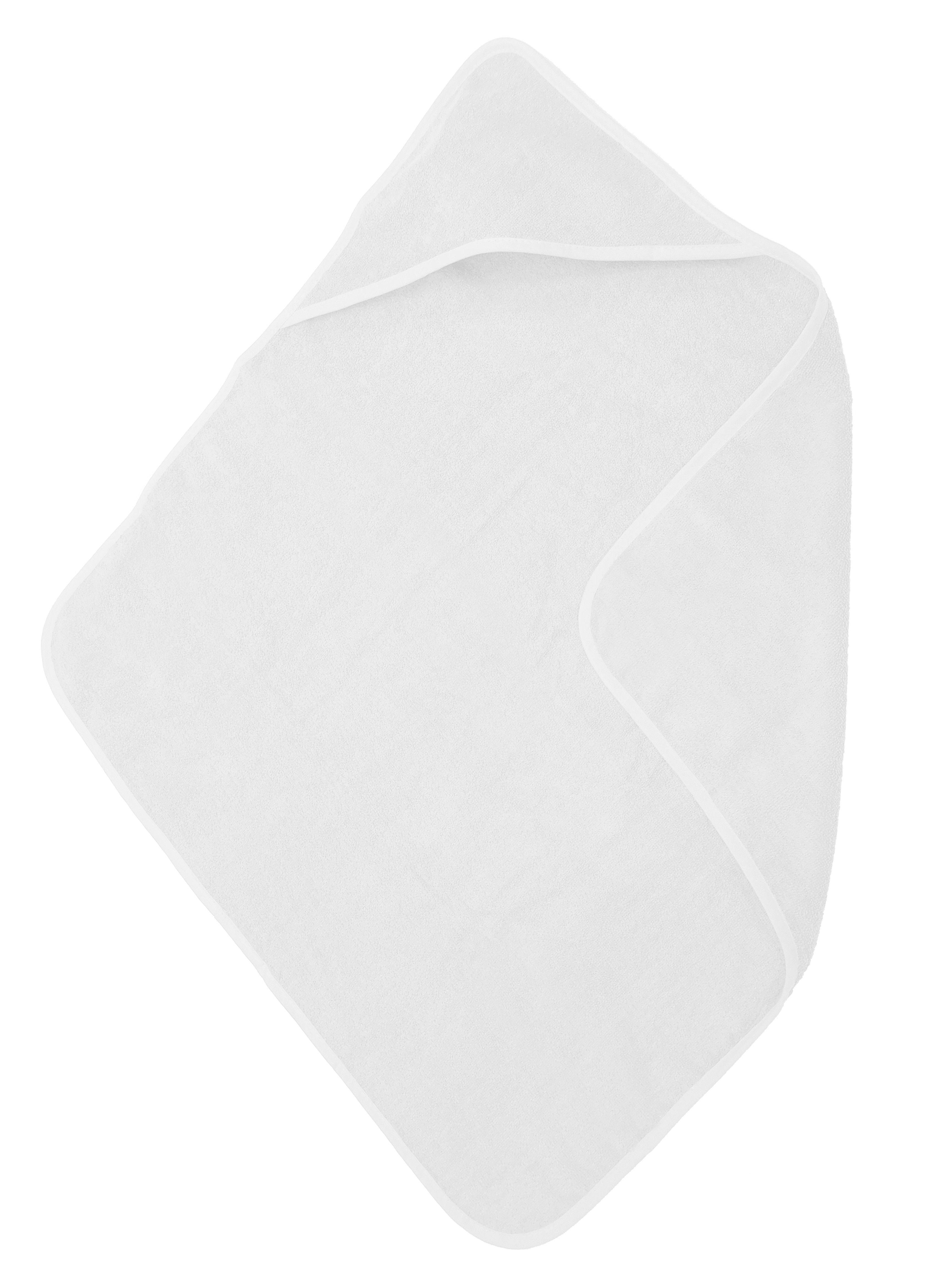 The One Baby Handdoek 75x75 White