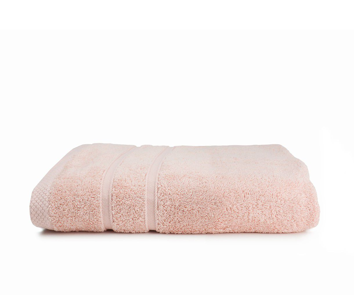 The One Towelling Bamboo handdoek 50x100 Salmon Pink