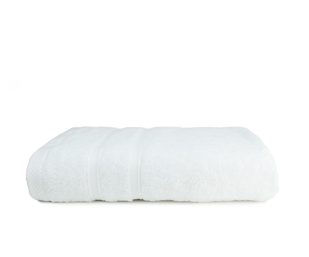 The One Towelling Bamboo Handdoek 50 X 100 White