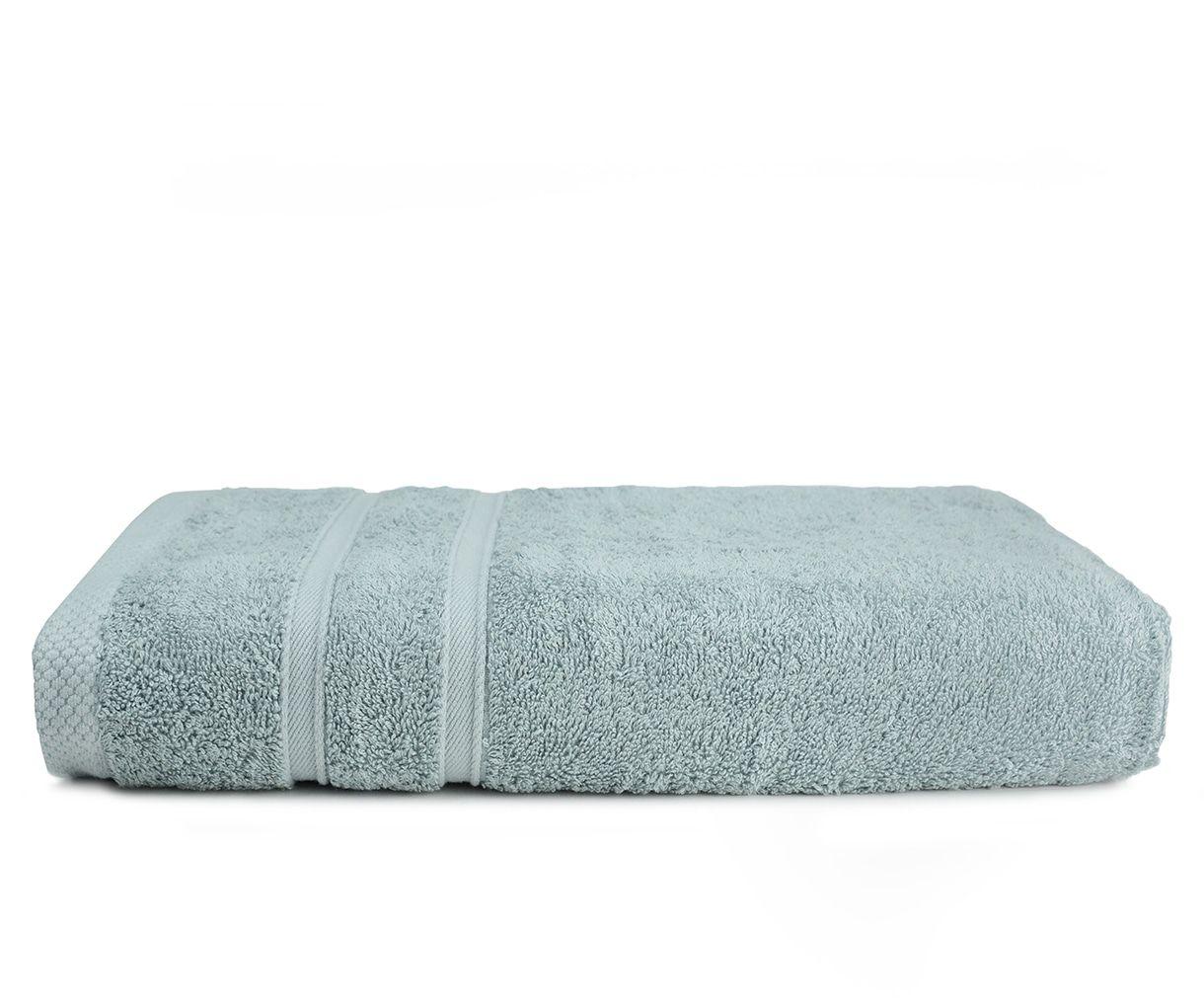 The One Towelling Bamboo handdoek 70x140 Light Grey