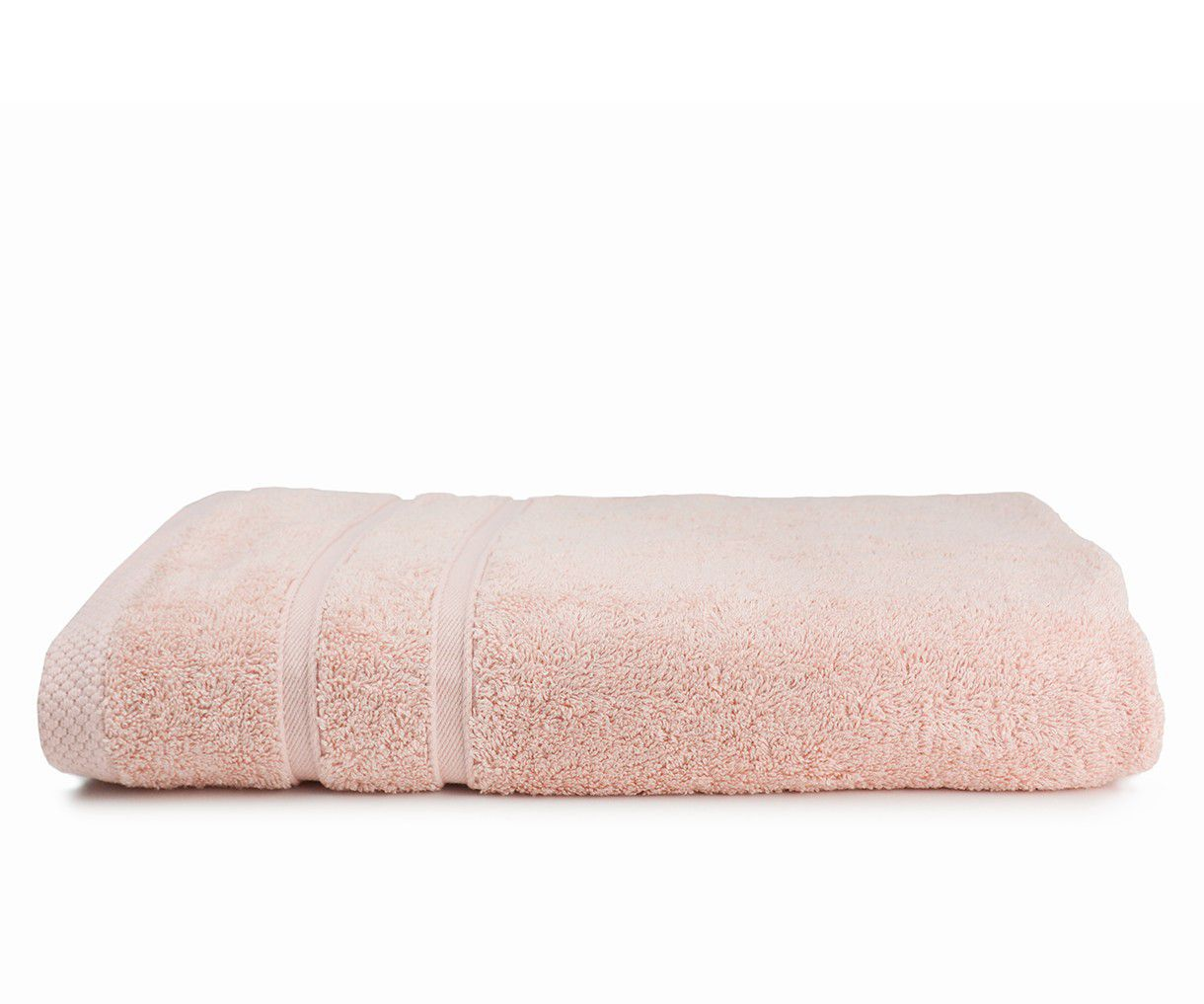 The One Towelling Bamboo handdoek 70x140 Salmon Pink
