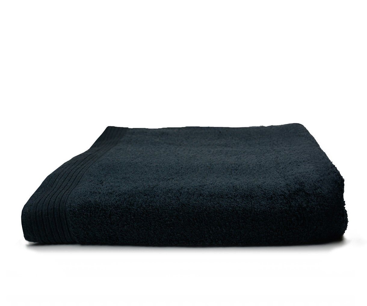 The One Badhanddoek Deluxe 70x140 550 gram Zwart
