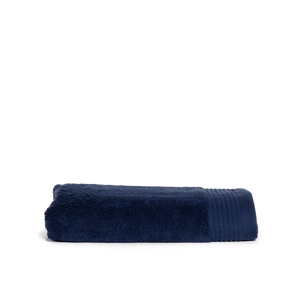 The One Badhanddoek Deluxe 70x140 550 gr Navy