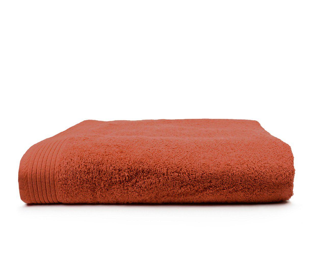 The One Badhanddoek Deluxe 70x140 550 gr Terra Spice