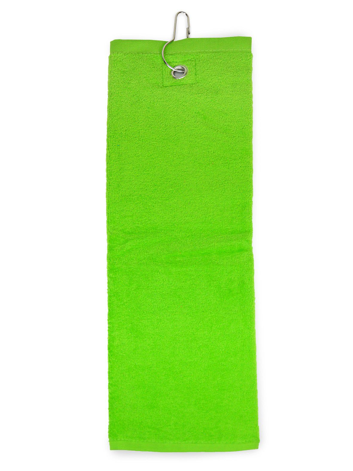 The One Golfhanddoek 450 gram Lime groen