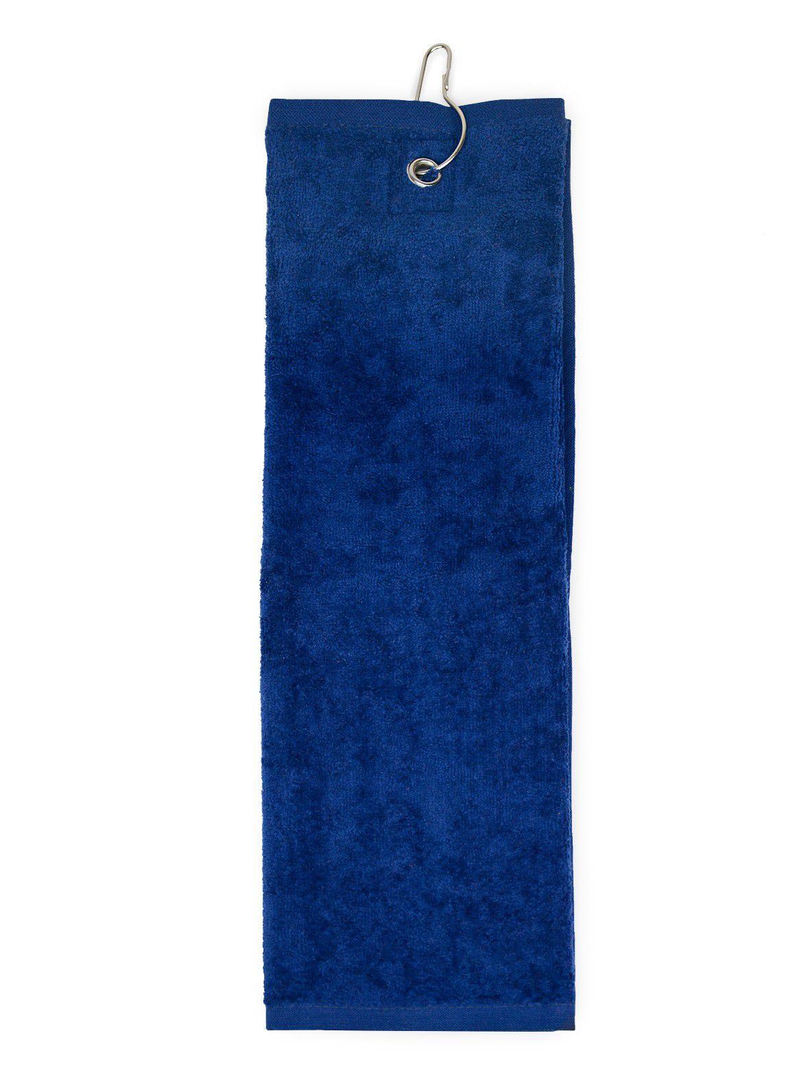 The One Golfhanddoek 450 gram Donker blauw