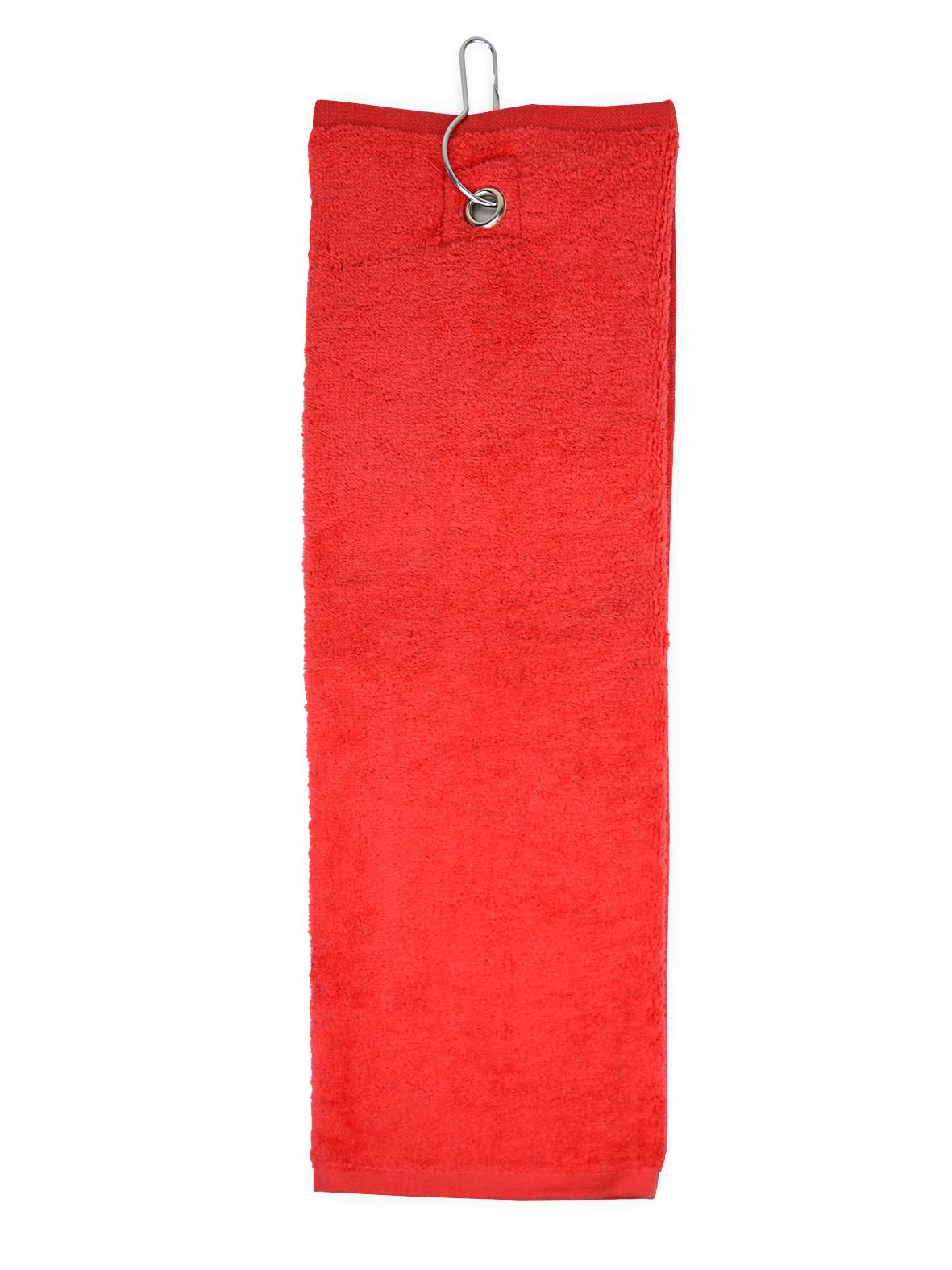 The One Golfhanddoek 40x50 cm 450 gram Rood