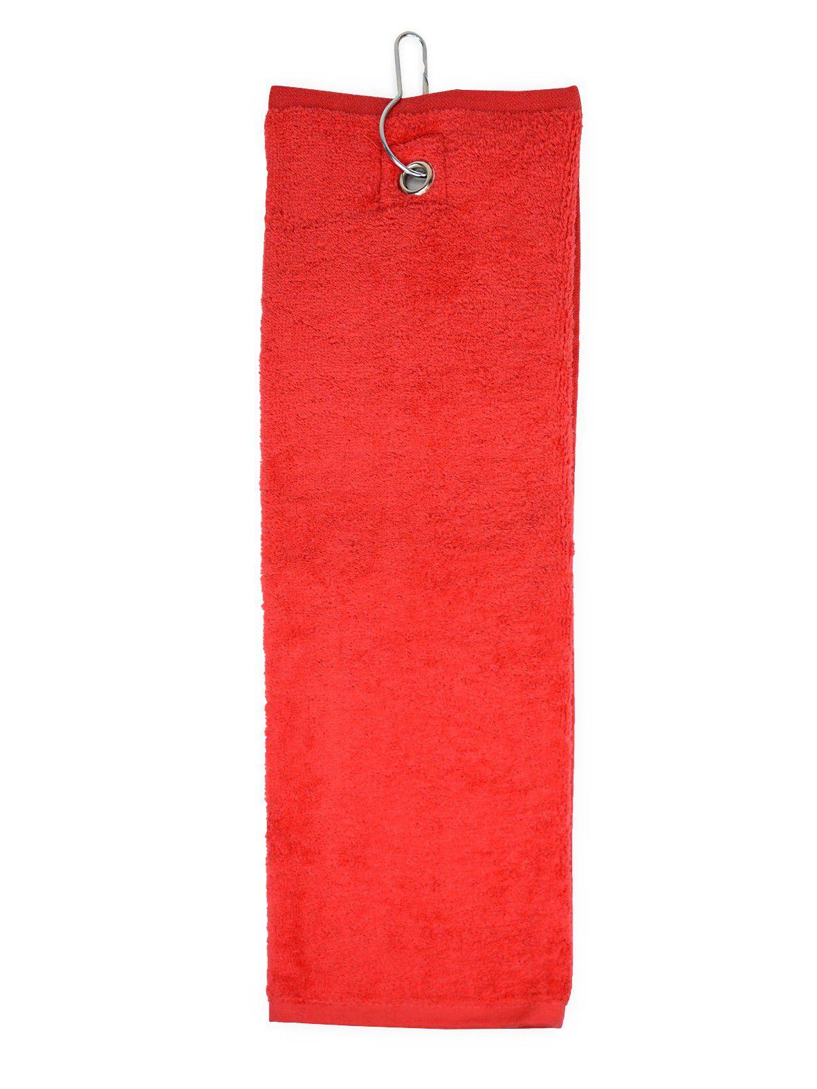 The One Golfhanddoek 450 gram Rood