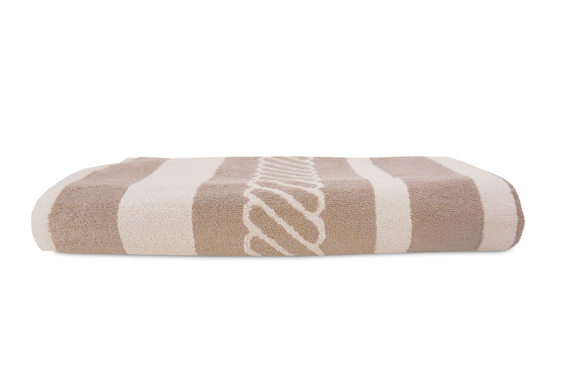 The One Towelling Beach Towels Sailor 90 Beige - Cream