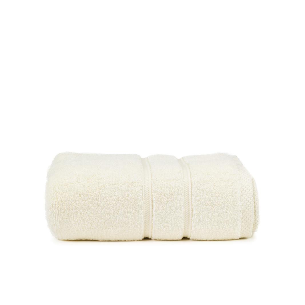 The One Baddoek Zero Twist 60x110 cm 600gram Ivory