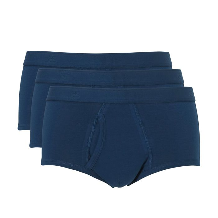 Ten Cate Men Basic Cotton Classic Brief 3-pack Denim