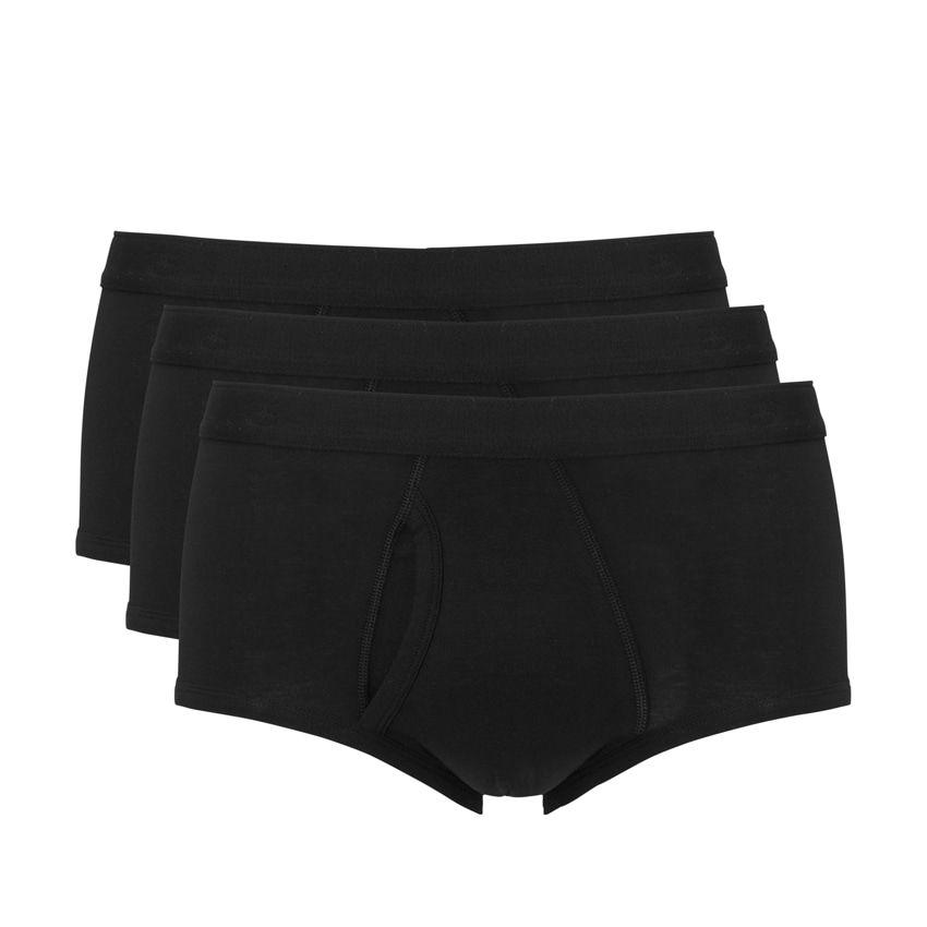 Ten Cate Men Basic Cotton Classic Brief 3-pack Zwart