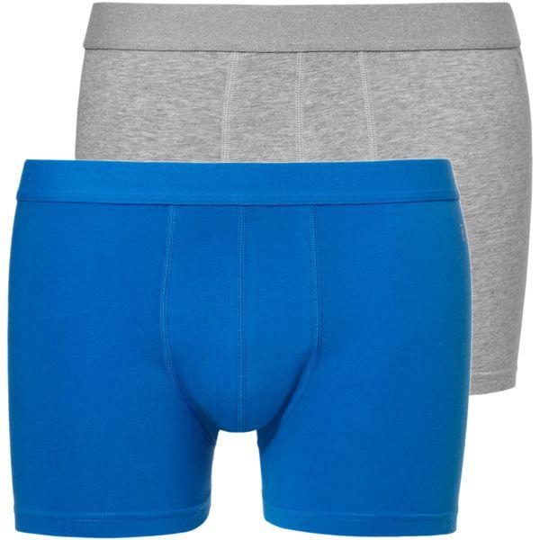 Ten Cate Boxershorts Kobaltblauw - Grijs Melee