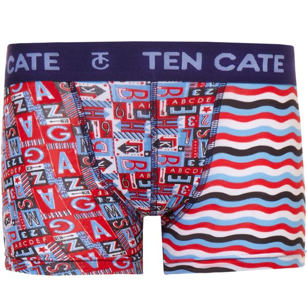 Ten Cate Boys Short Numbers & Letters Blue