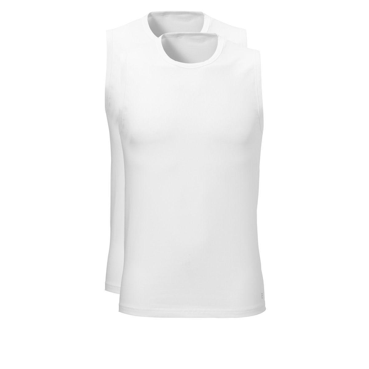 Ten Cate Tender Cotton Shirt Sleeveless 2-pack Wit