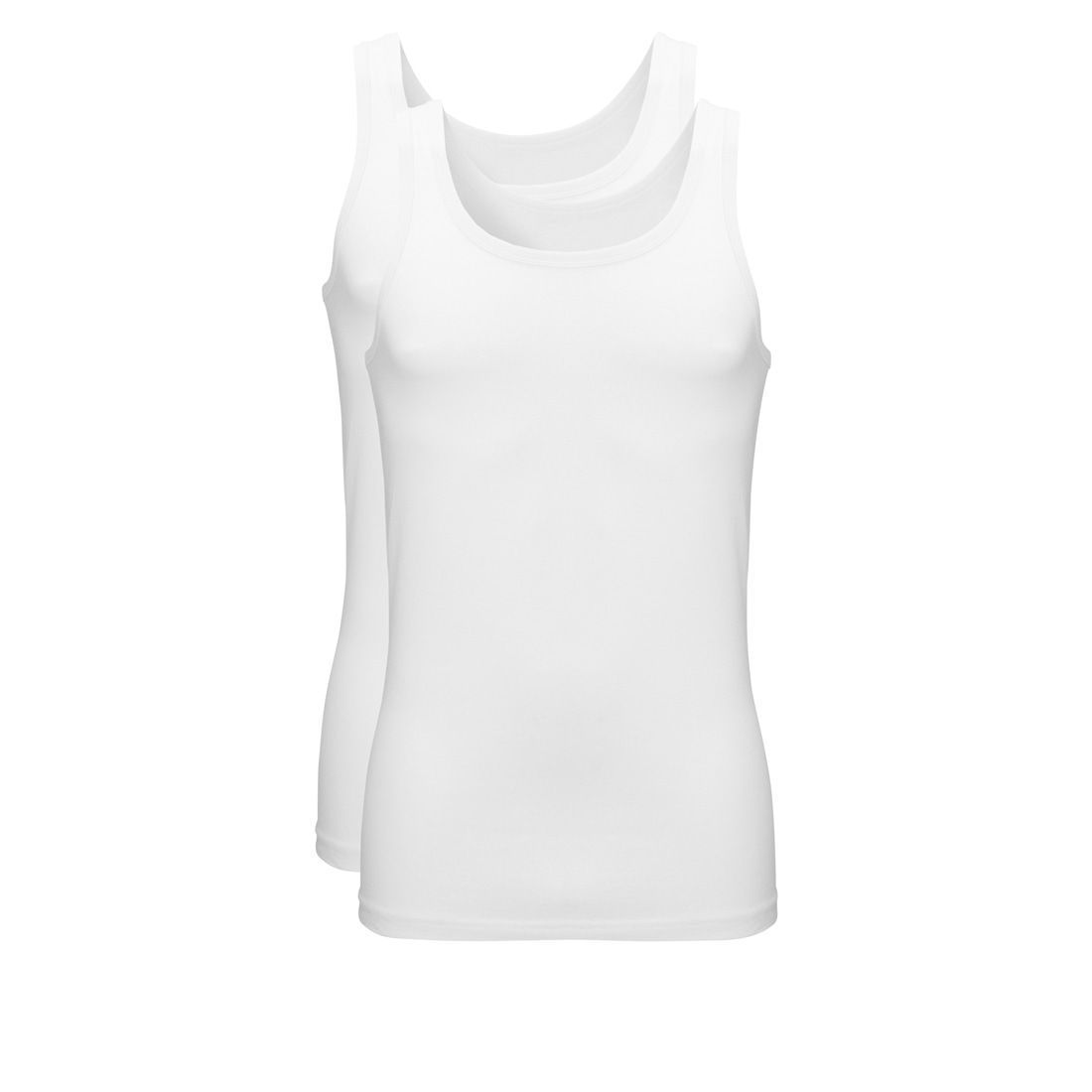 Ten Cate Tender Cotton Singlet 2-pack Wit