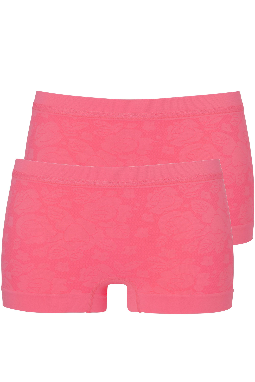 Ten Cate Jacquard 3866 2-pack Shorts Pink