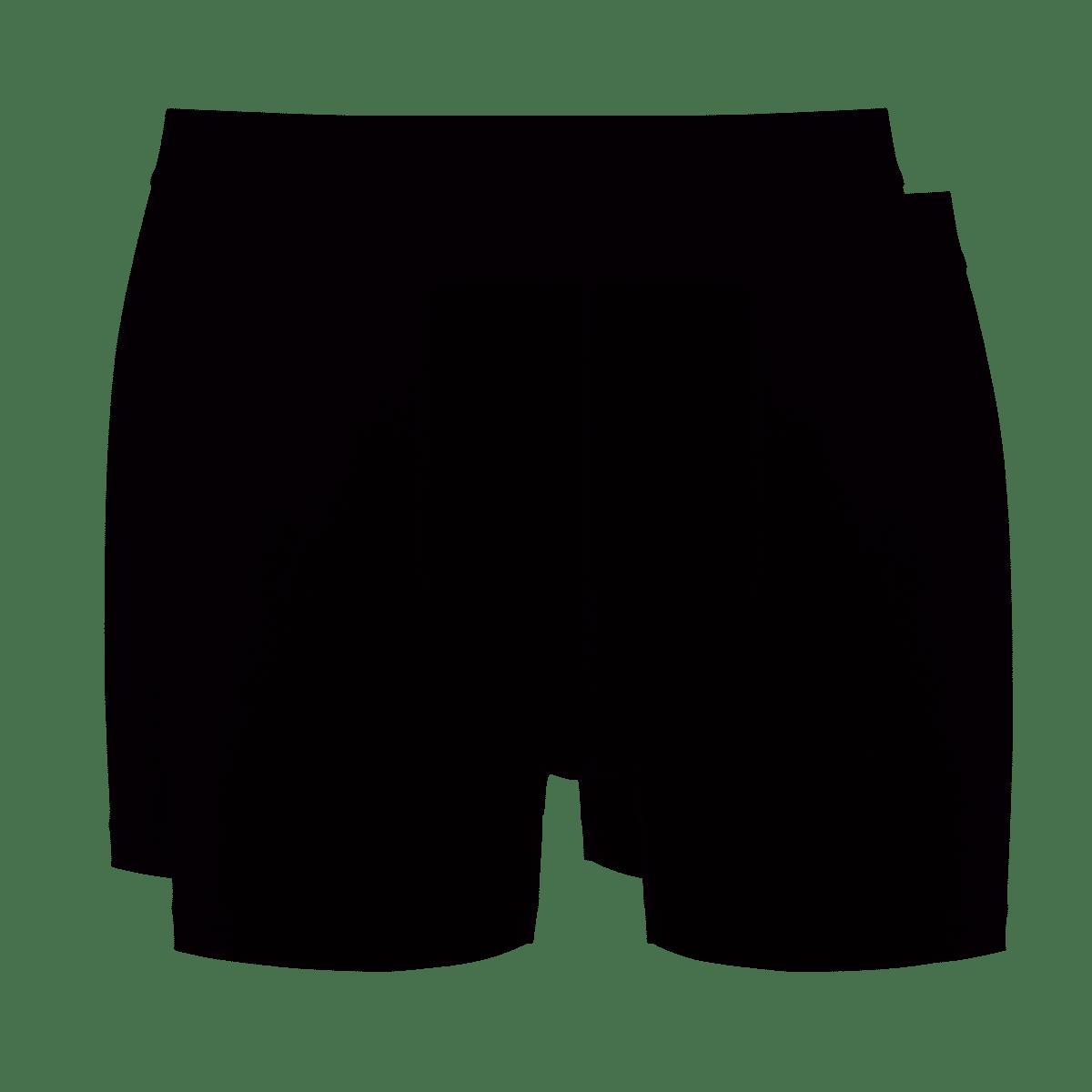 Ten Cate Basic boxershorts black + black