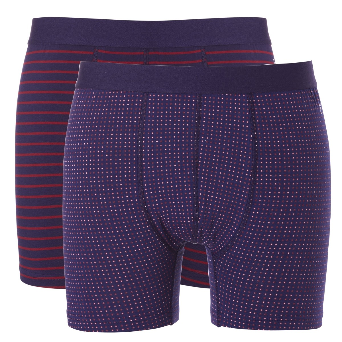 Ten Cate Basic boxershorts Stripes + Square
