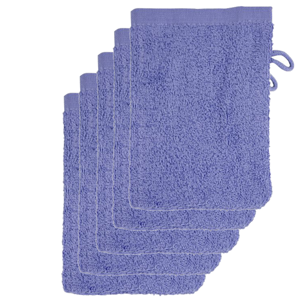 The One Voordeelpakket Washandjes Lavender - 10 stuks