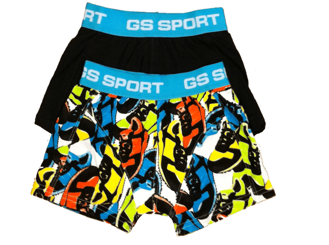 GS Sports Boys 2-pack Blauw