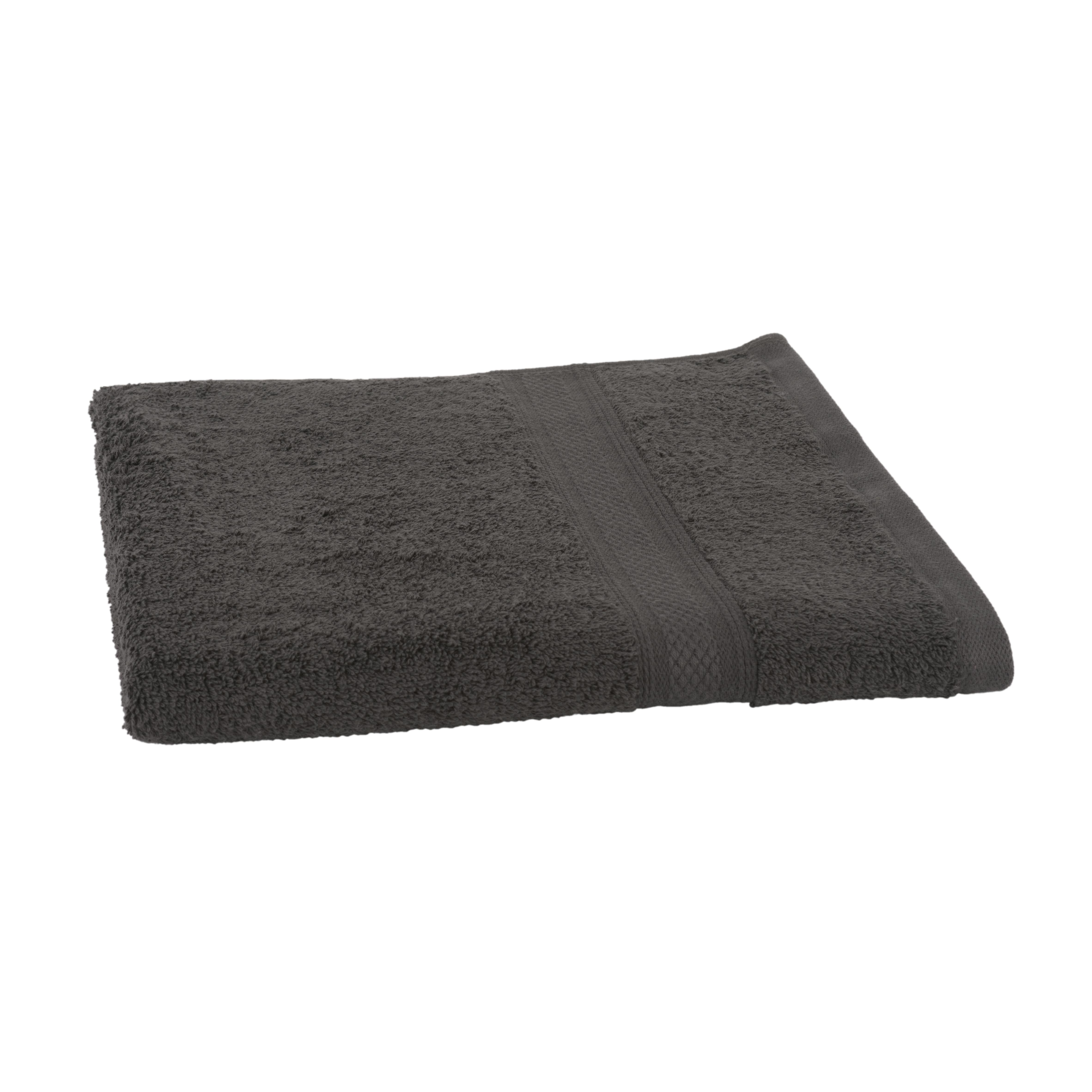 Clarysse Elegance Handdoek 60x110 500gram Antraciet