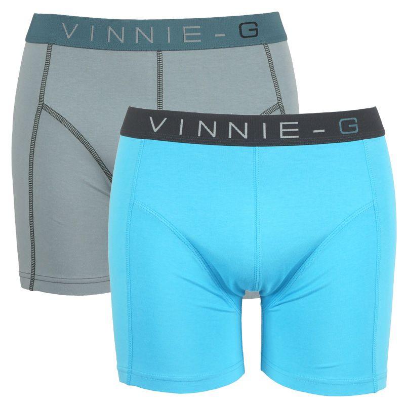 Vinnie-G boxershorts Wave Uni 2-pack -M