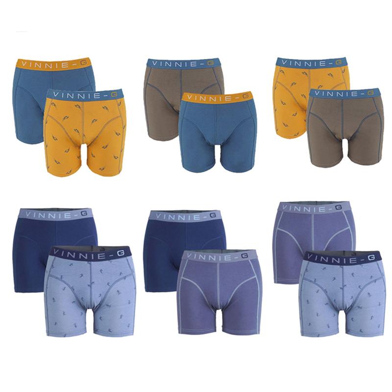 Dagaanbieding Vinnie-G Boys Boxershorts 6-pack -128/134-Wakeboard