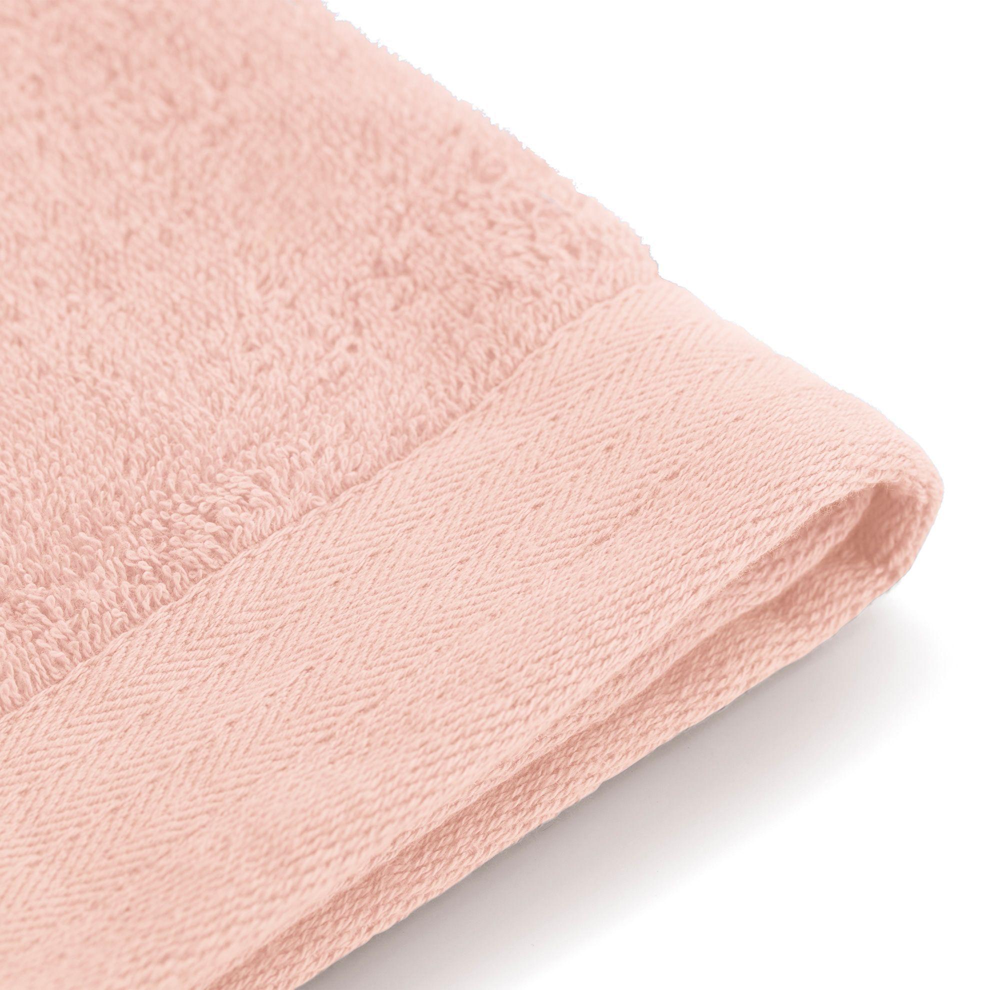 Walra Soft Cotton Gastendoek 30 x 50 cm 550 gram Roze - 2 stuks