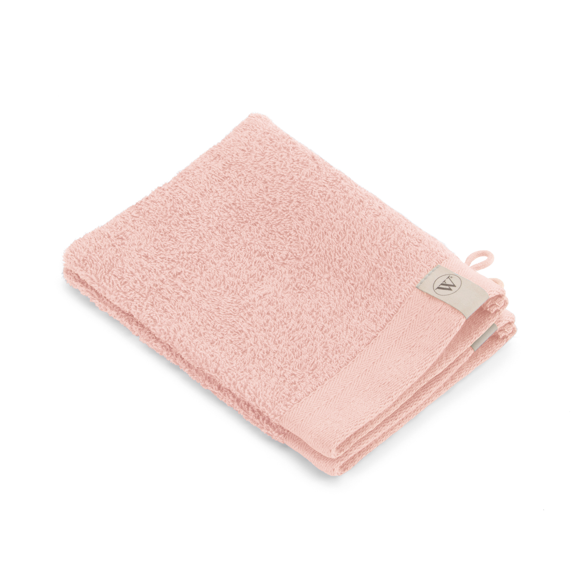 Walra Soft Cotton Washandje 16x21 cm 550 gram Roze - 2 stuks