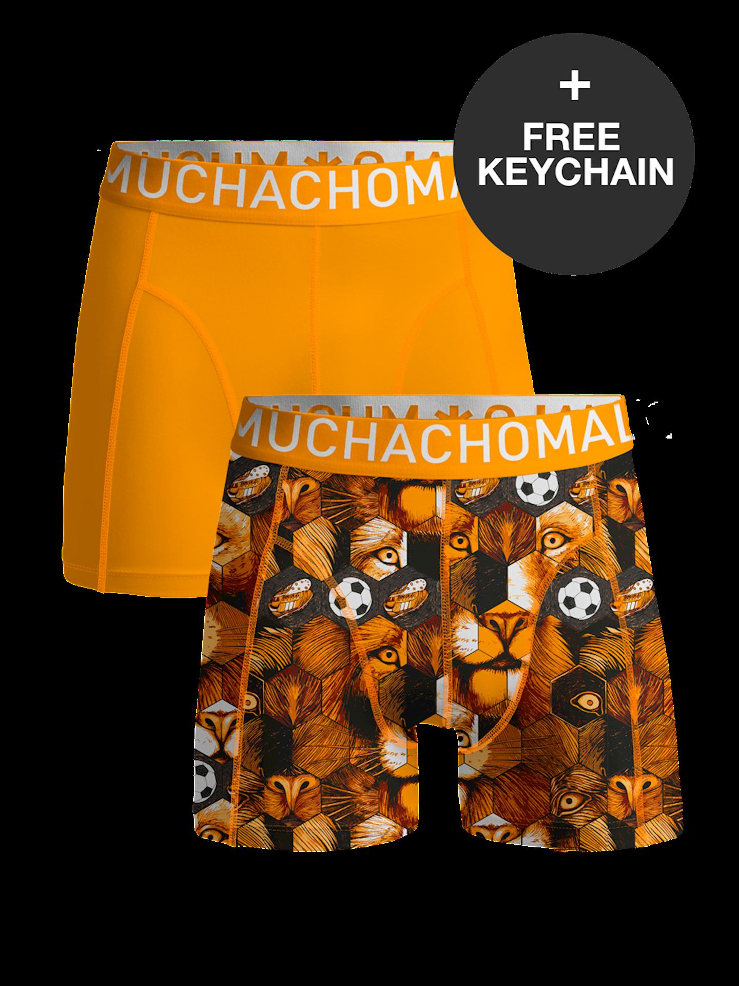 Muchachomalo boxershorts Oranje EK 2021 editie-L