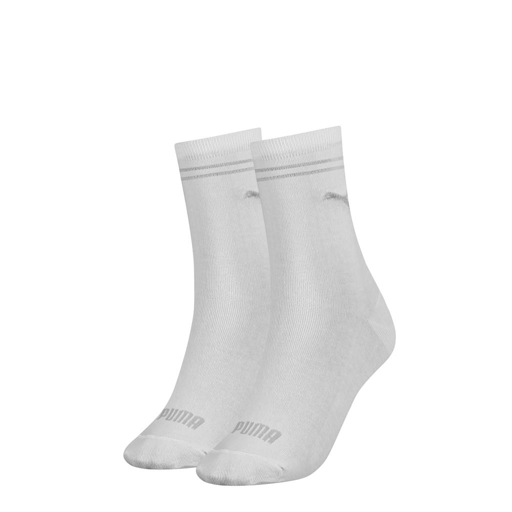 Puma Sock Women White 2-pack-35-38