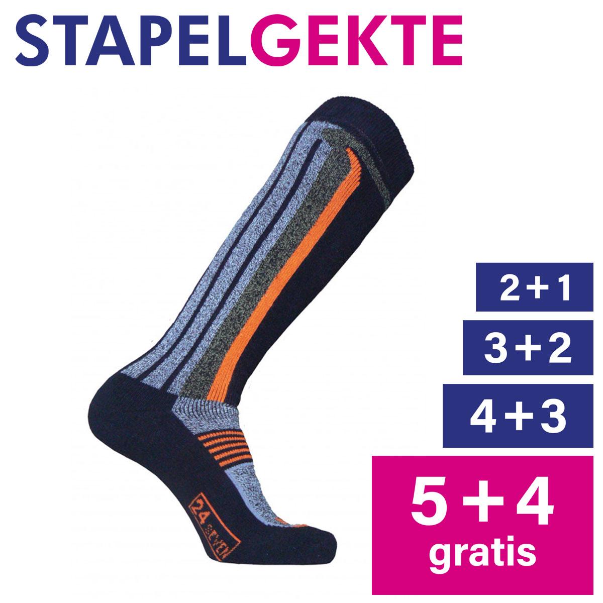 Stapelkorting: Skisokken 24-seven