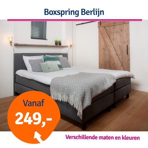 Dagaanbieding Boxspring Berlijn